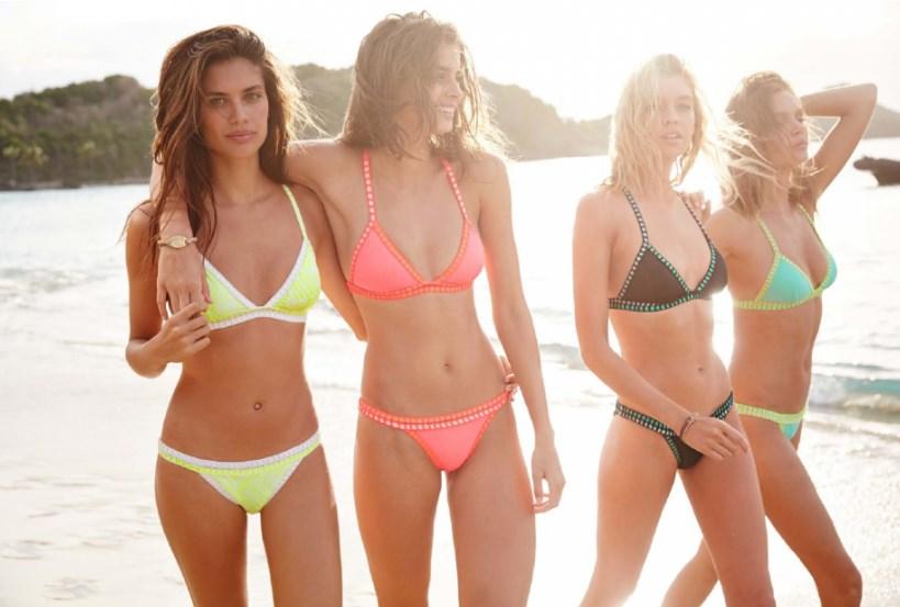 Victoria's Secret – самая женственная из купальных групп