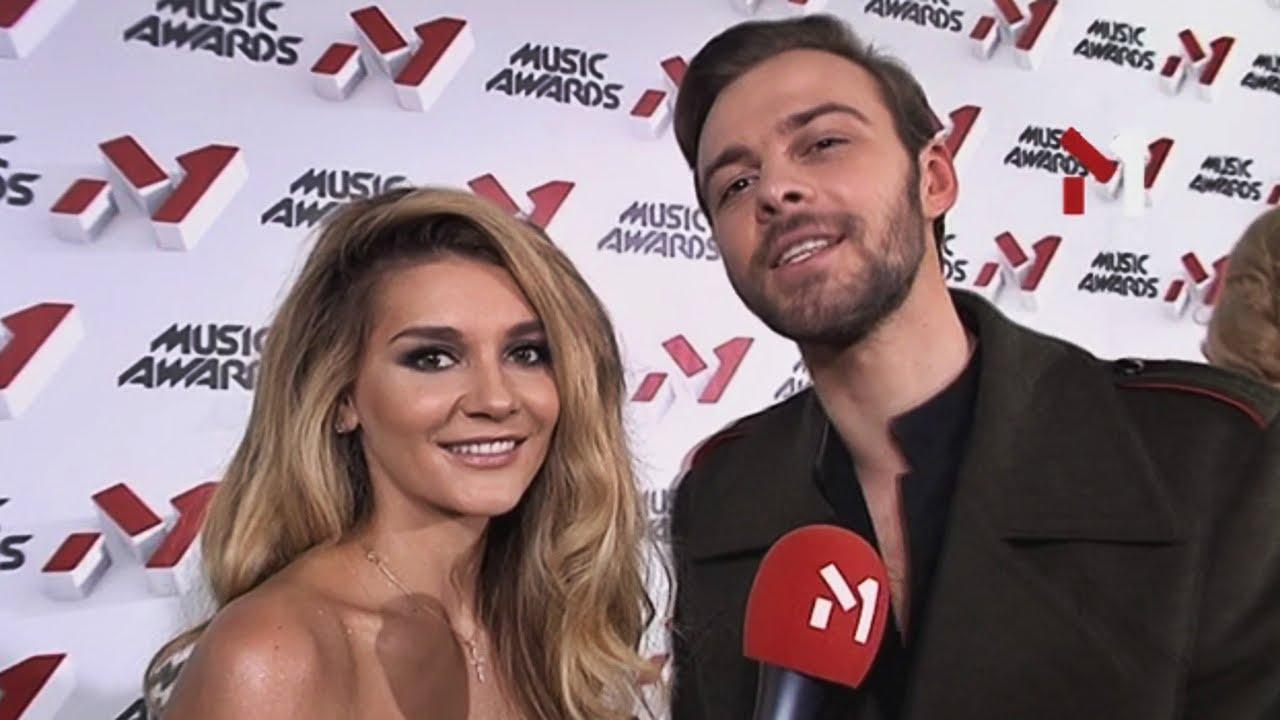 Миша Романова и Макс Барских блистали на музыкальной премии в России