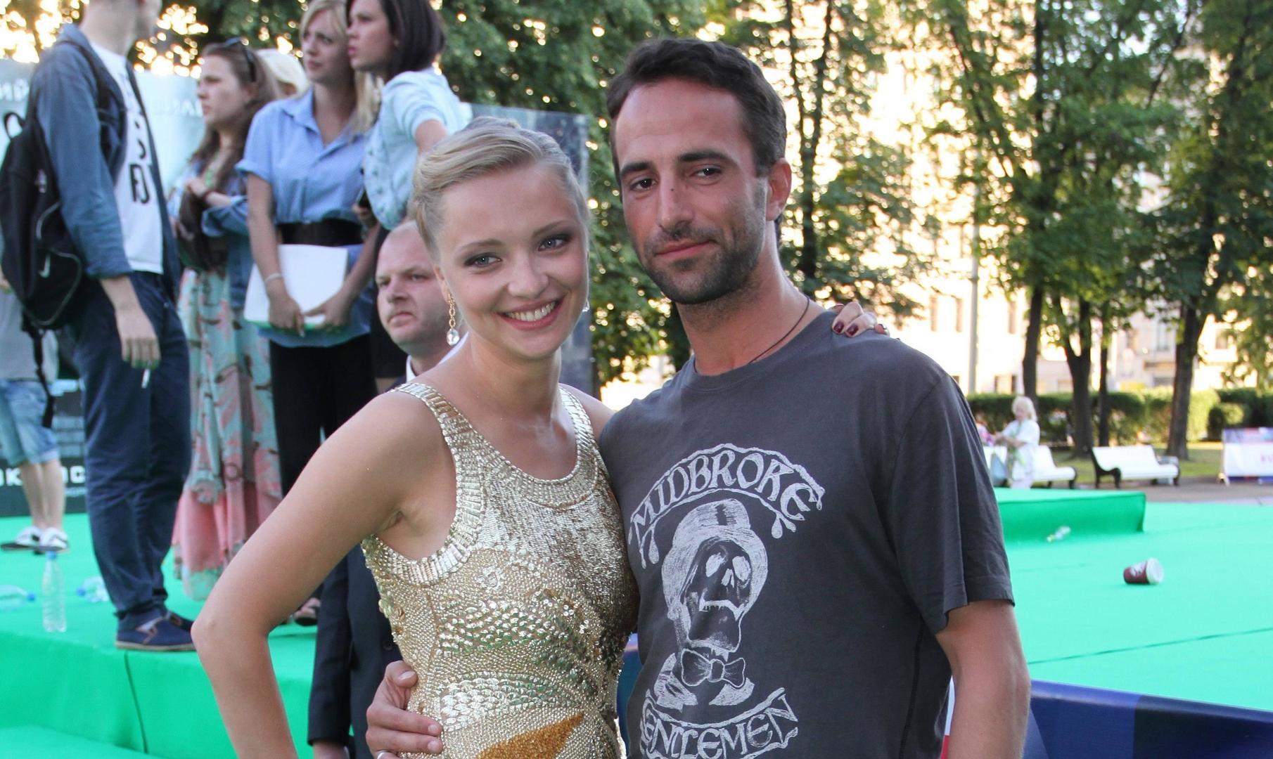 Екатерина Вилкова дала совместное интервью с мужем
