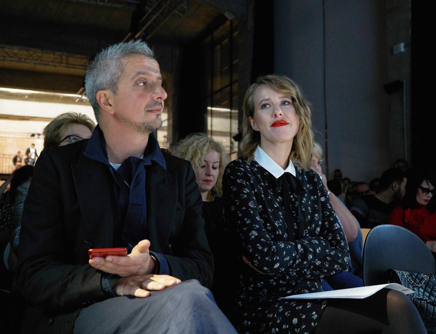 Ксения Собчак, Константин Богомолов и Дарья Мороз встретились на «Кинотавре»
