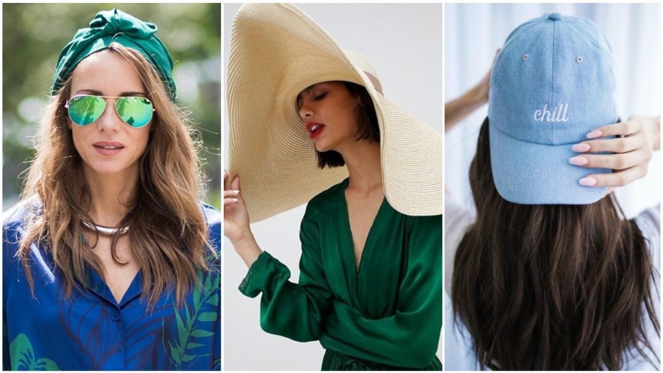 Модные женские головные уборы весна-лето 2020, фото
