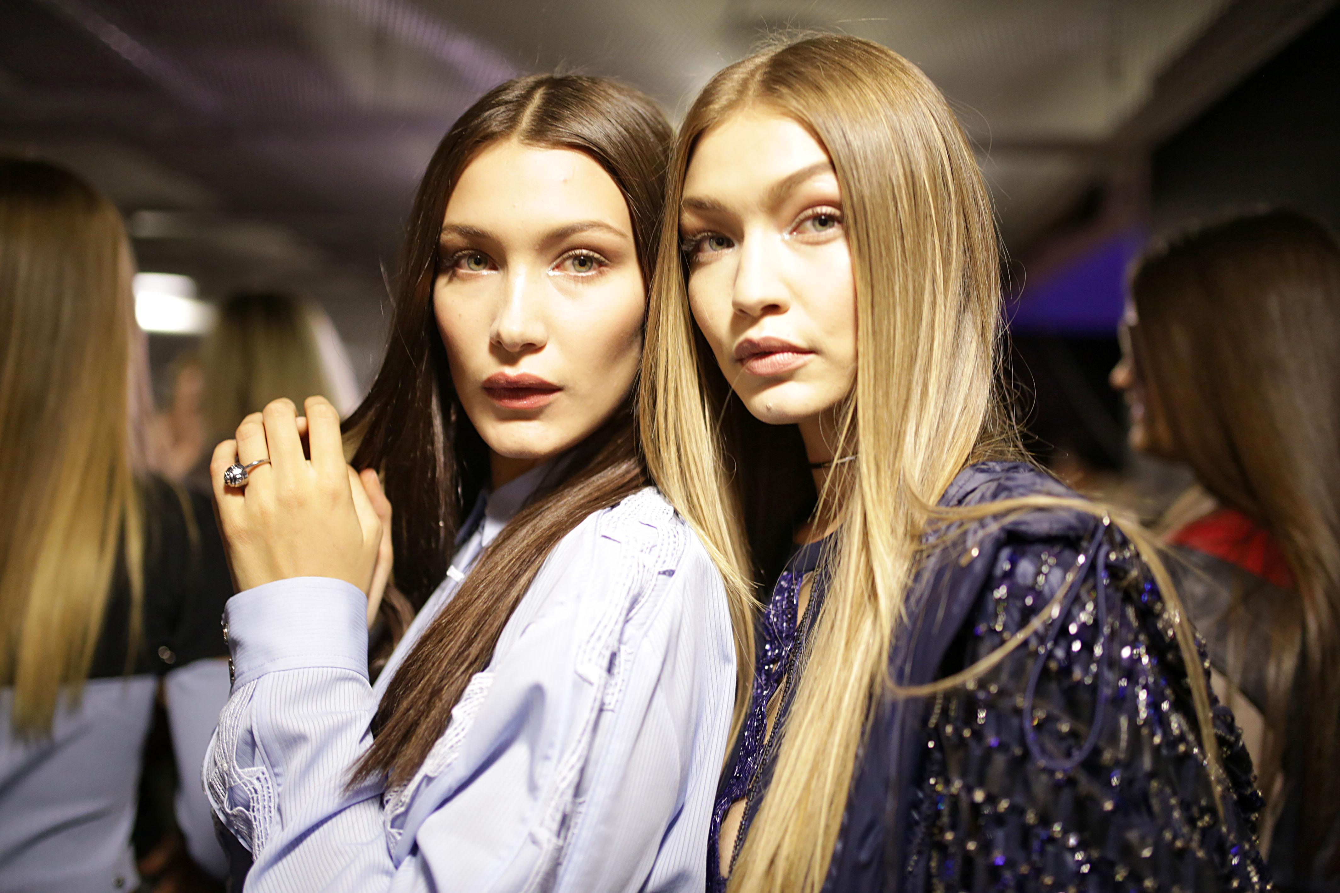 Джиджи и Белла Хадид блистали на модной вечеринке
