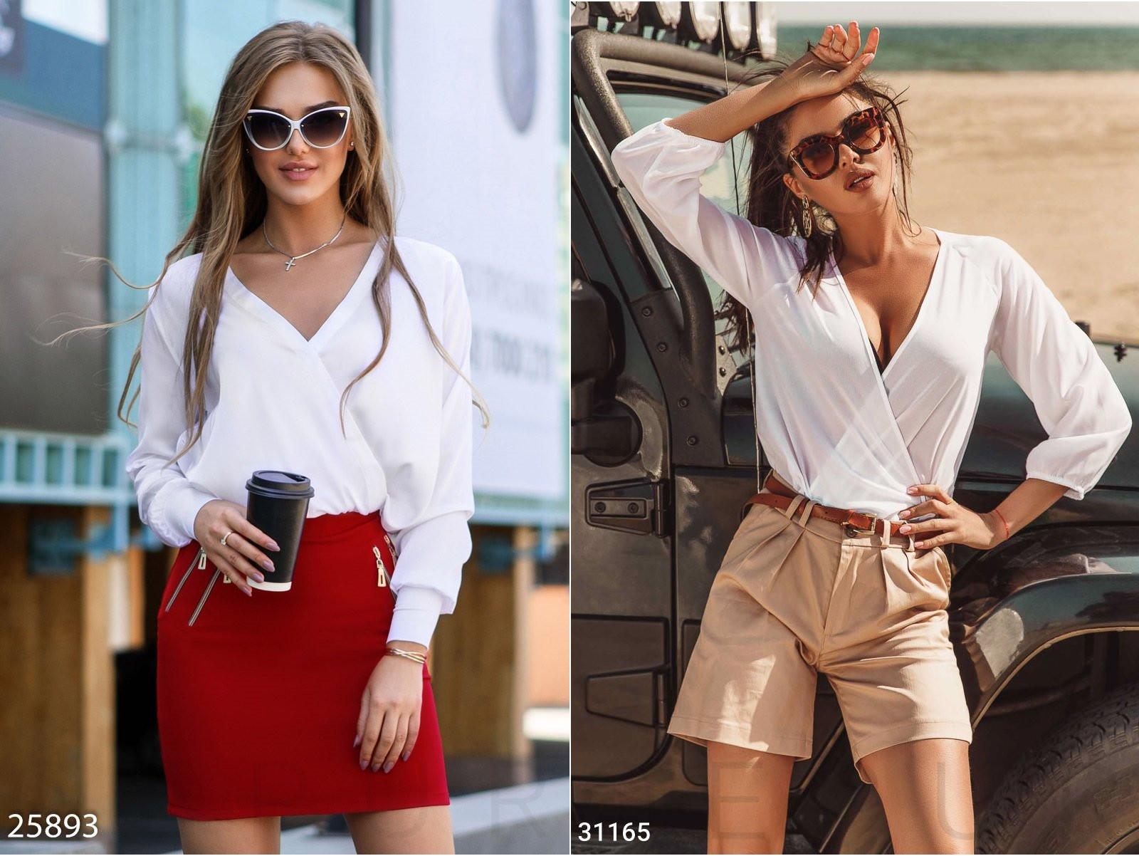 Модные женские блузки весна-лето 2020, фото