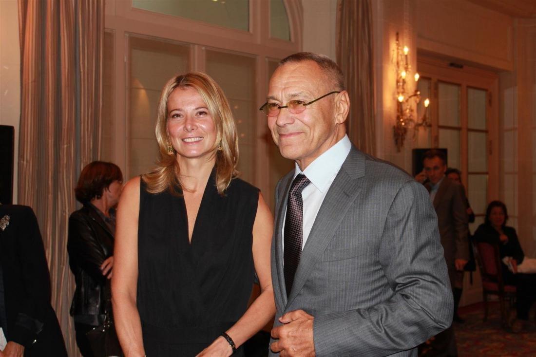 Юлия Высоцкая и Андрей Кончаловский отдыхают на Лазурном берегу