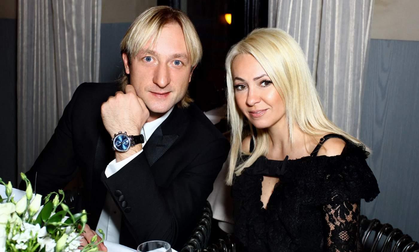 В сети появилось видео ссоры Яны Рудковской с Евгением Плющенко