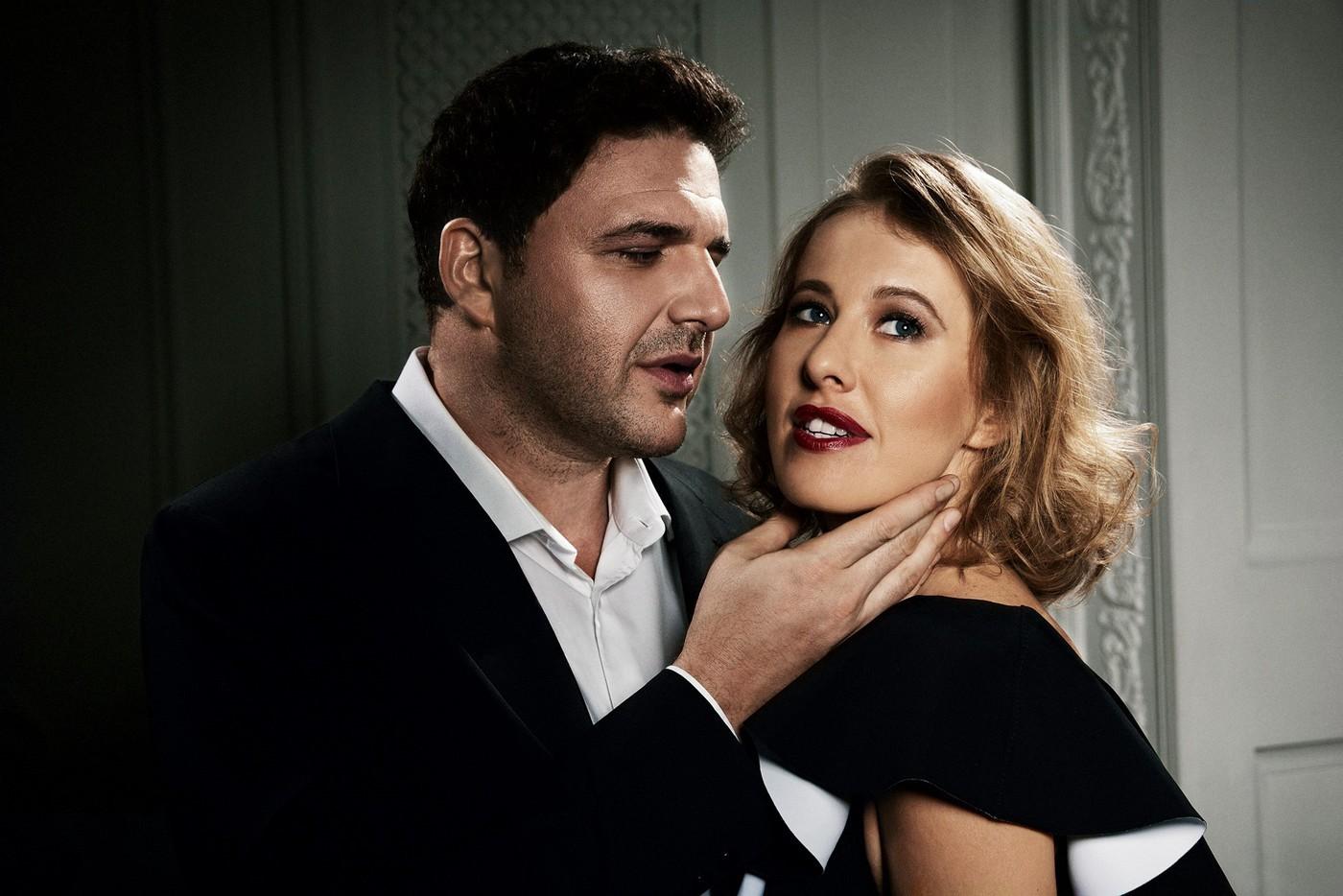 Ксения Собчак и Максим Виторган решили выяснить отношения в сети