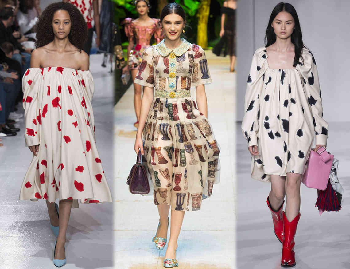 Модные принты и узоры на женской одежде весна-лето 2020