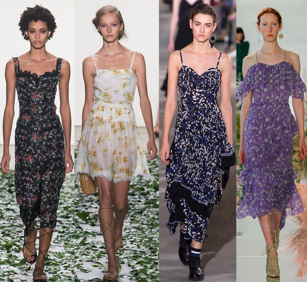 Модные женские сарафаны весна-лето 2020, фото