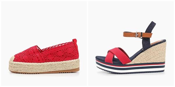 Модная летняя женская обувь 2019 — эспадрильи