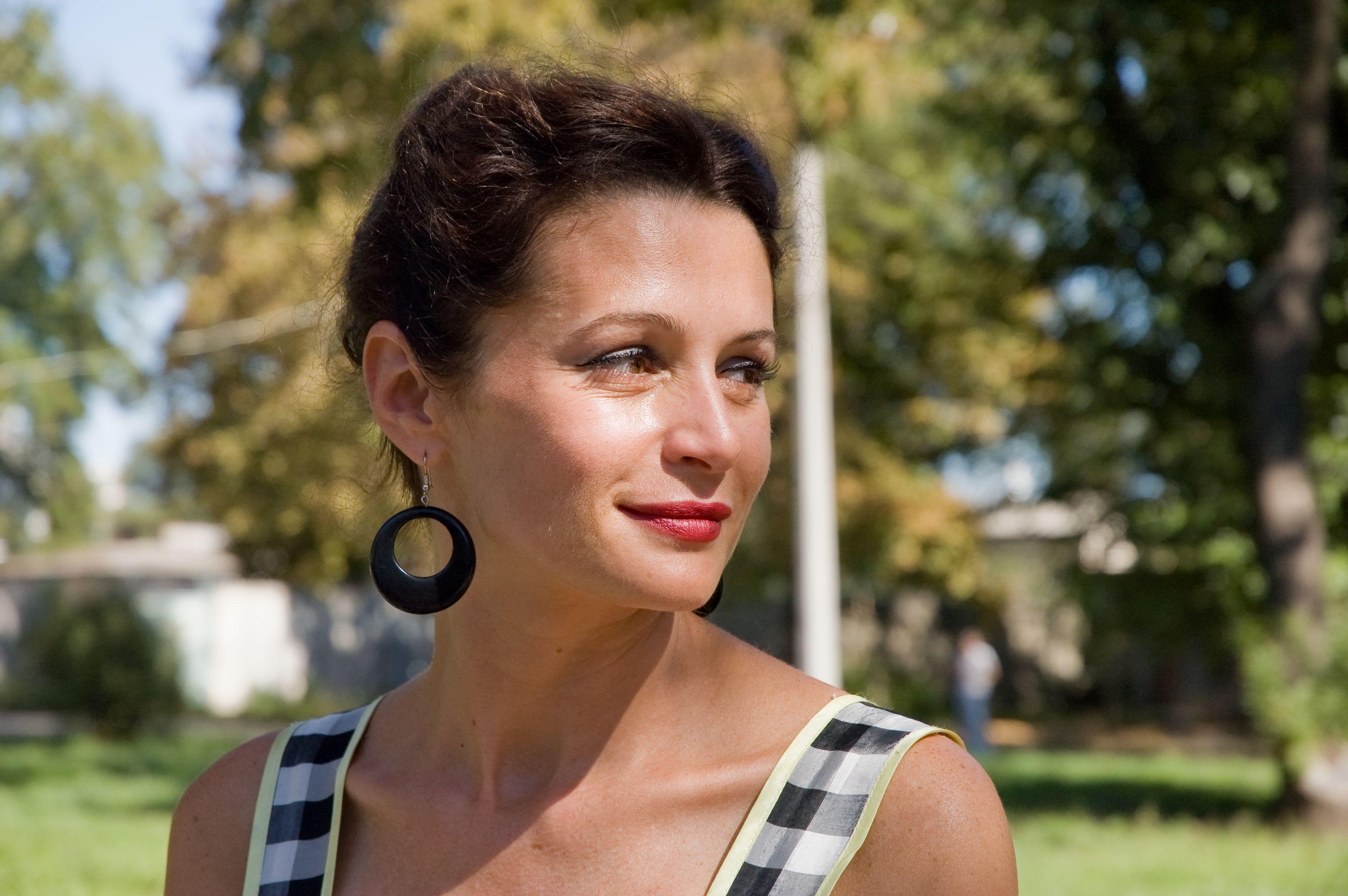Оксана Фандера отдыхает в Израиле