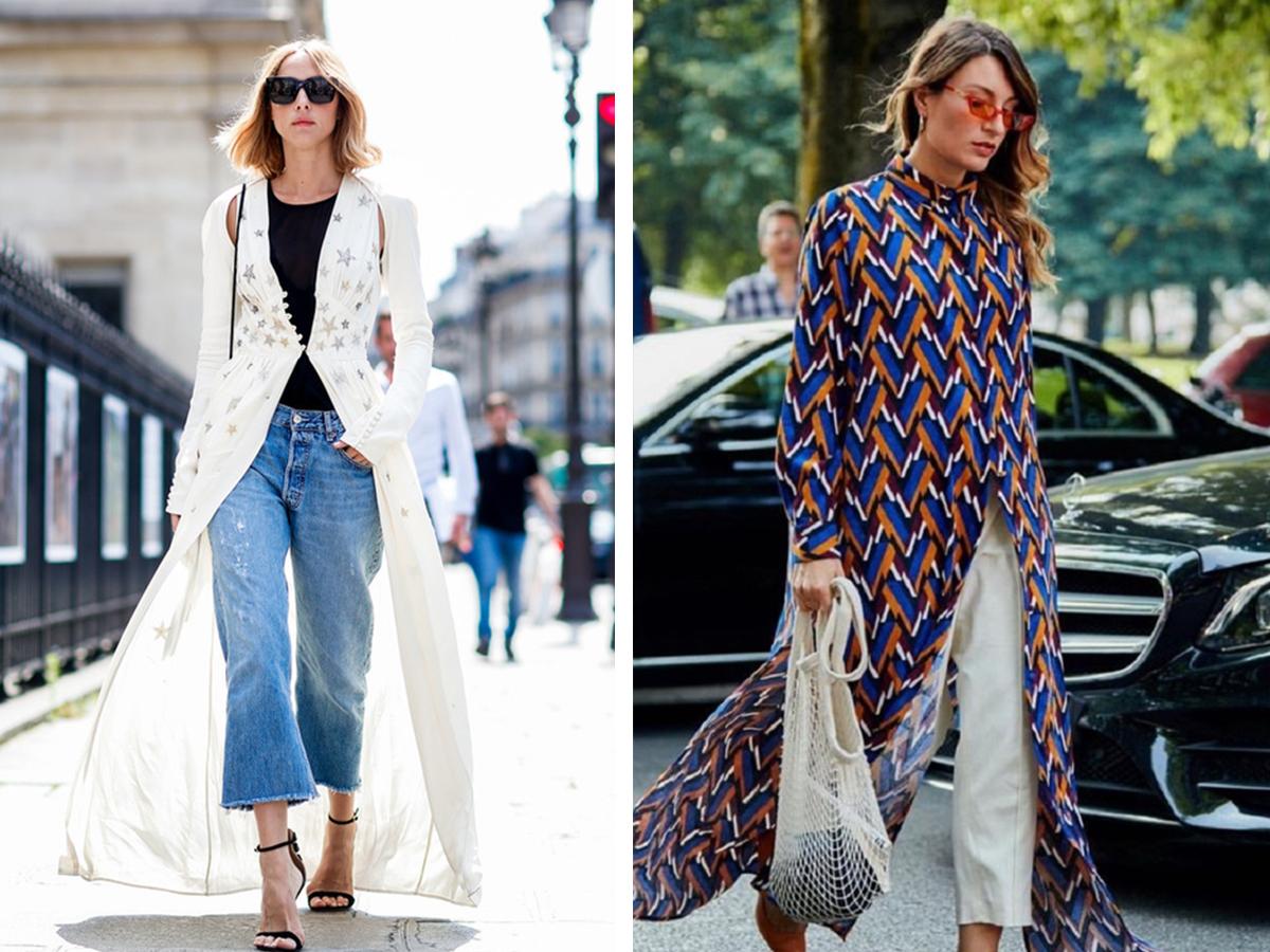 Модные летние накидки для девушек, фото ярких образов