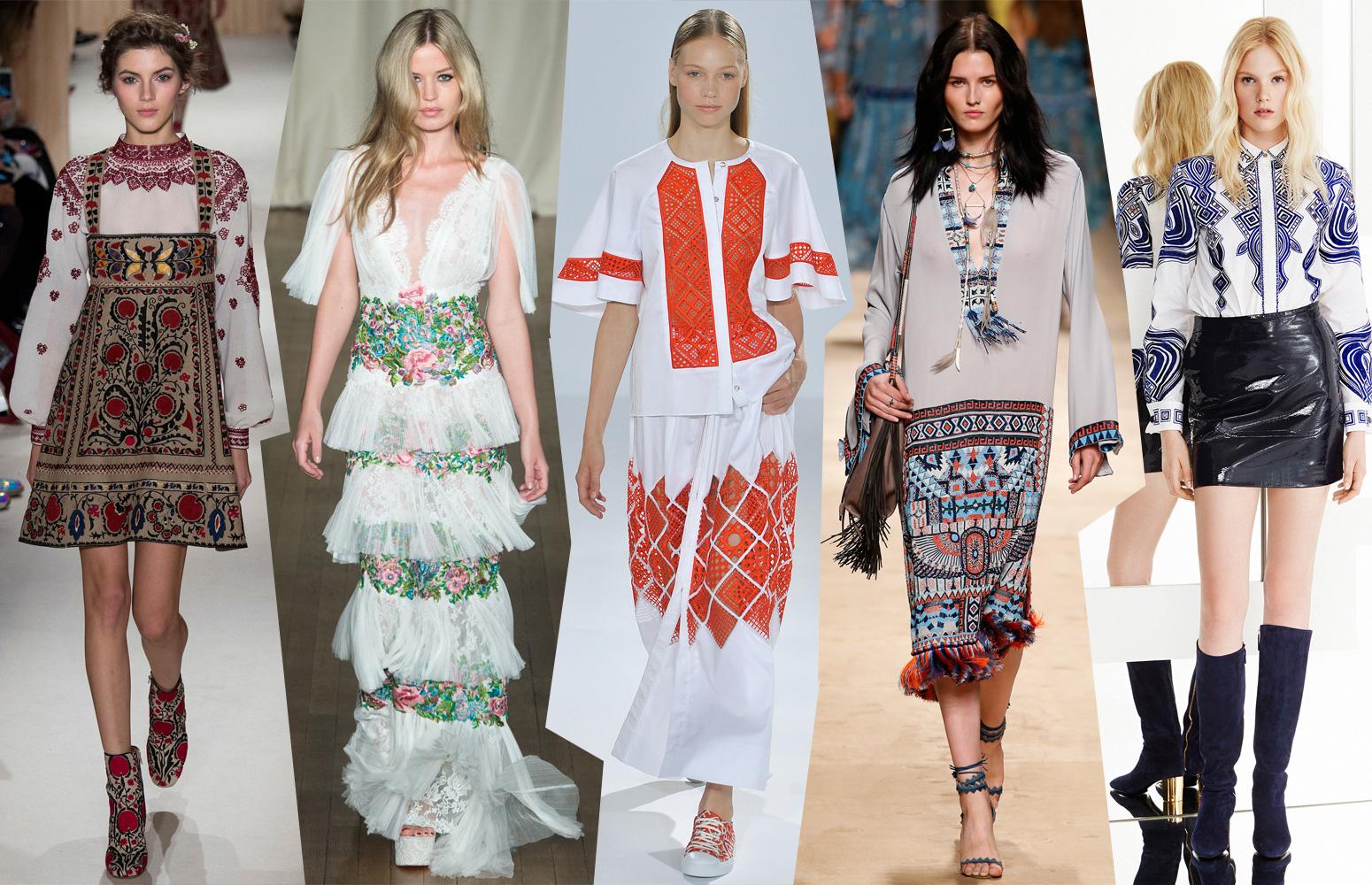 Этнический стиль: мода на все времена