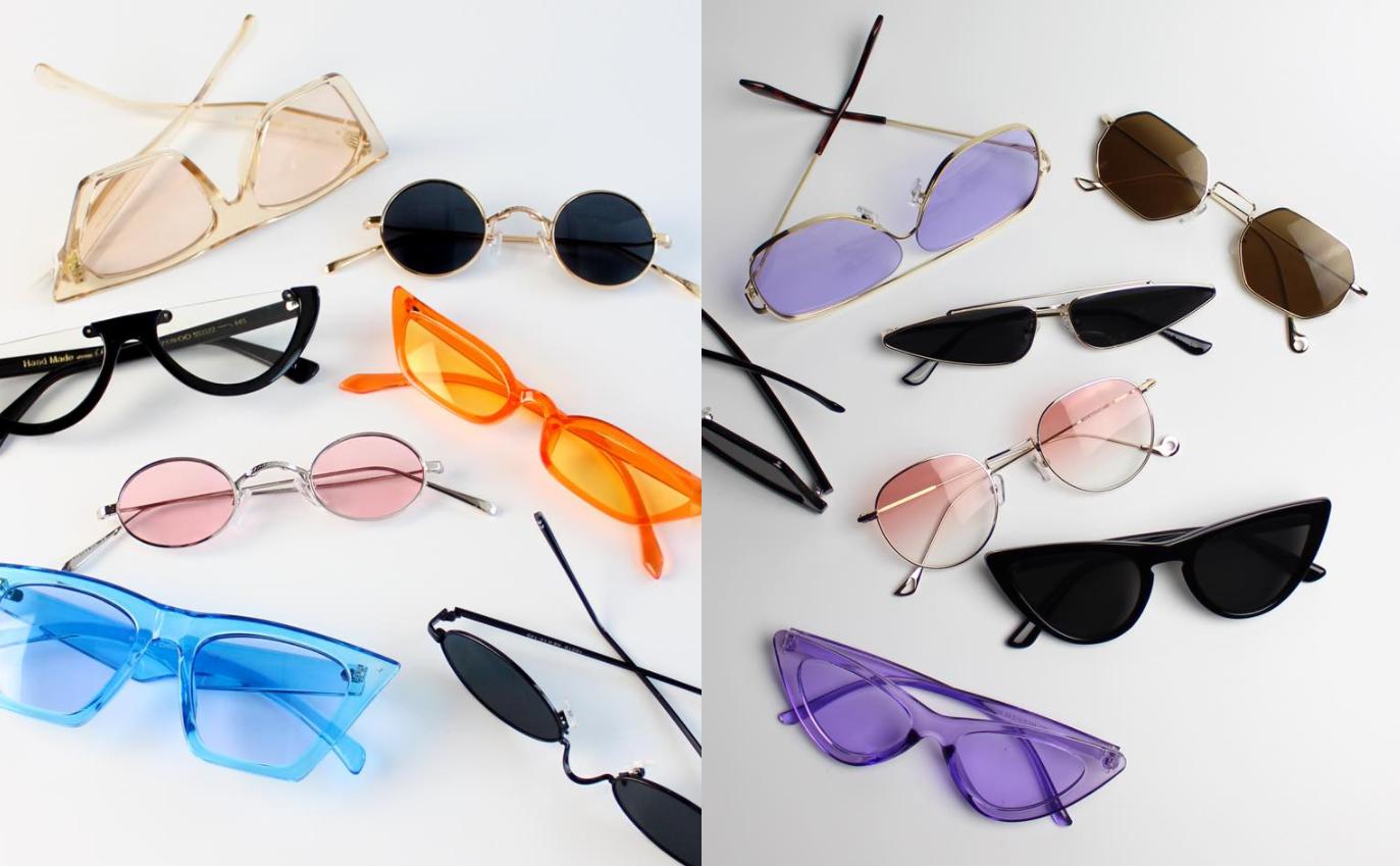 Солнцезащитные очки: как выглядеть стильно