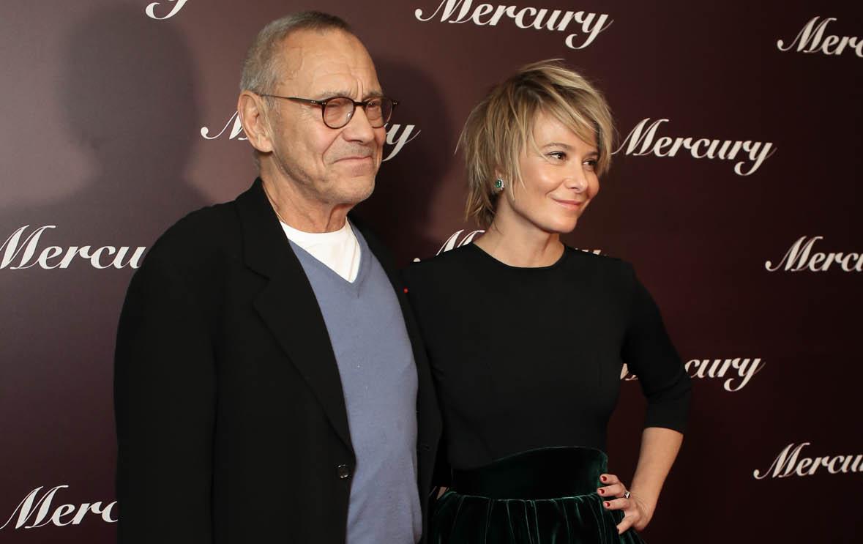 Юлия Высоцкая и Андрей Кончаловский блистали на премьере фильма