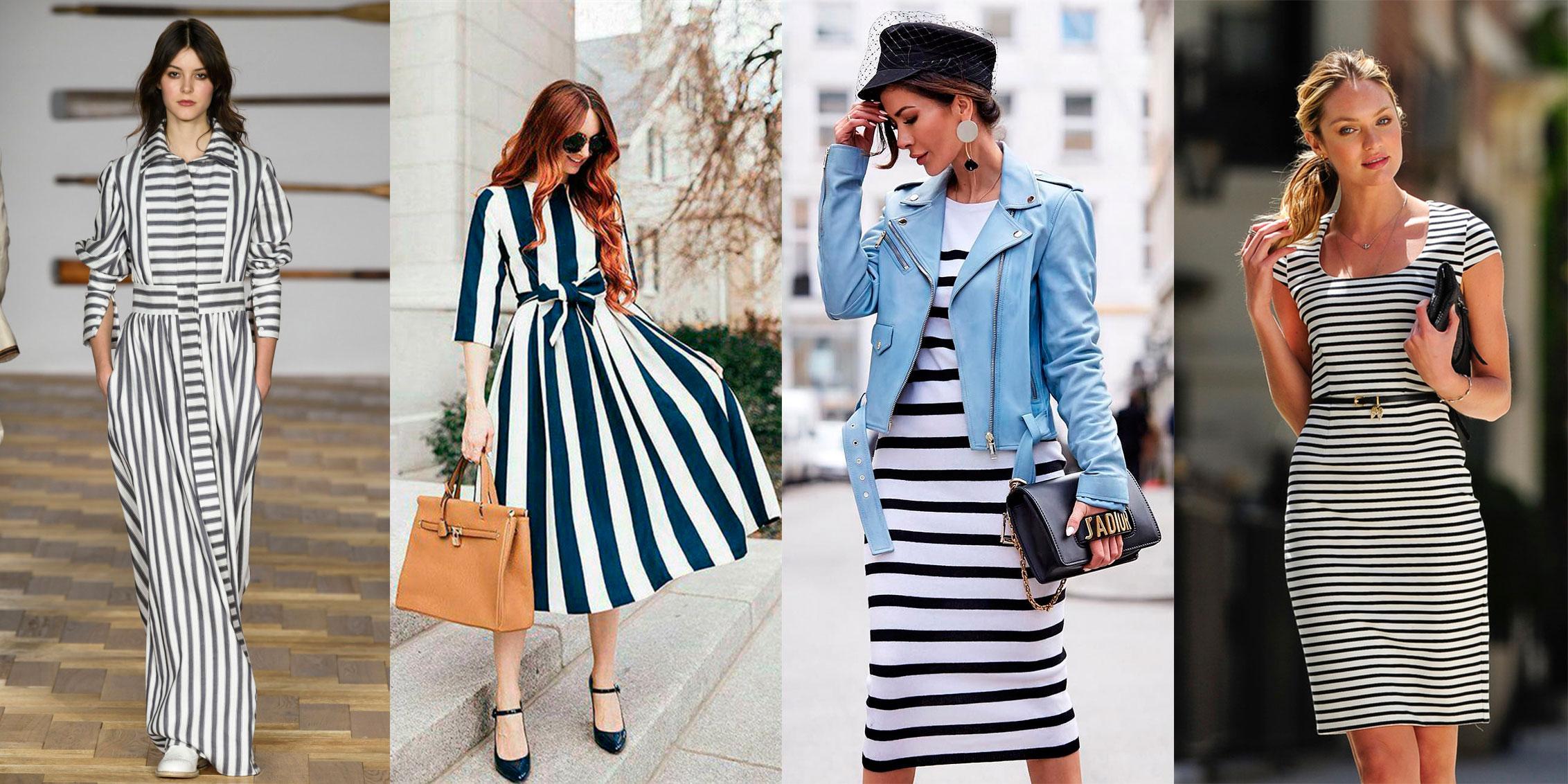 Модный тренд весны и лета — женская одежда в полоску