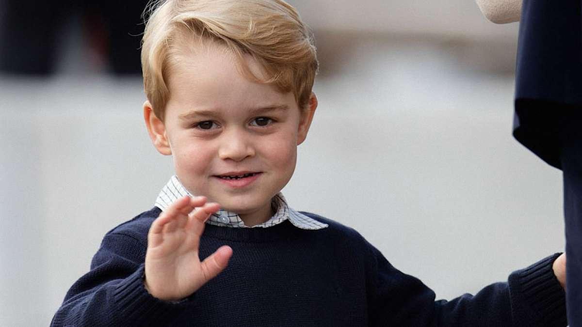 Принц Джордж приготовил пудинг