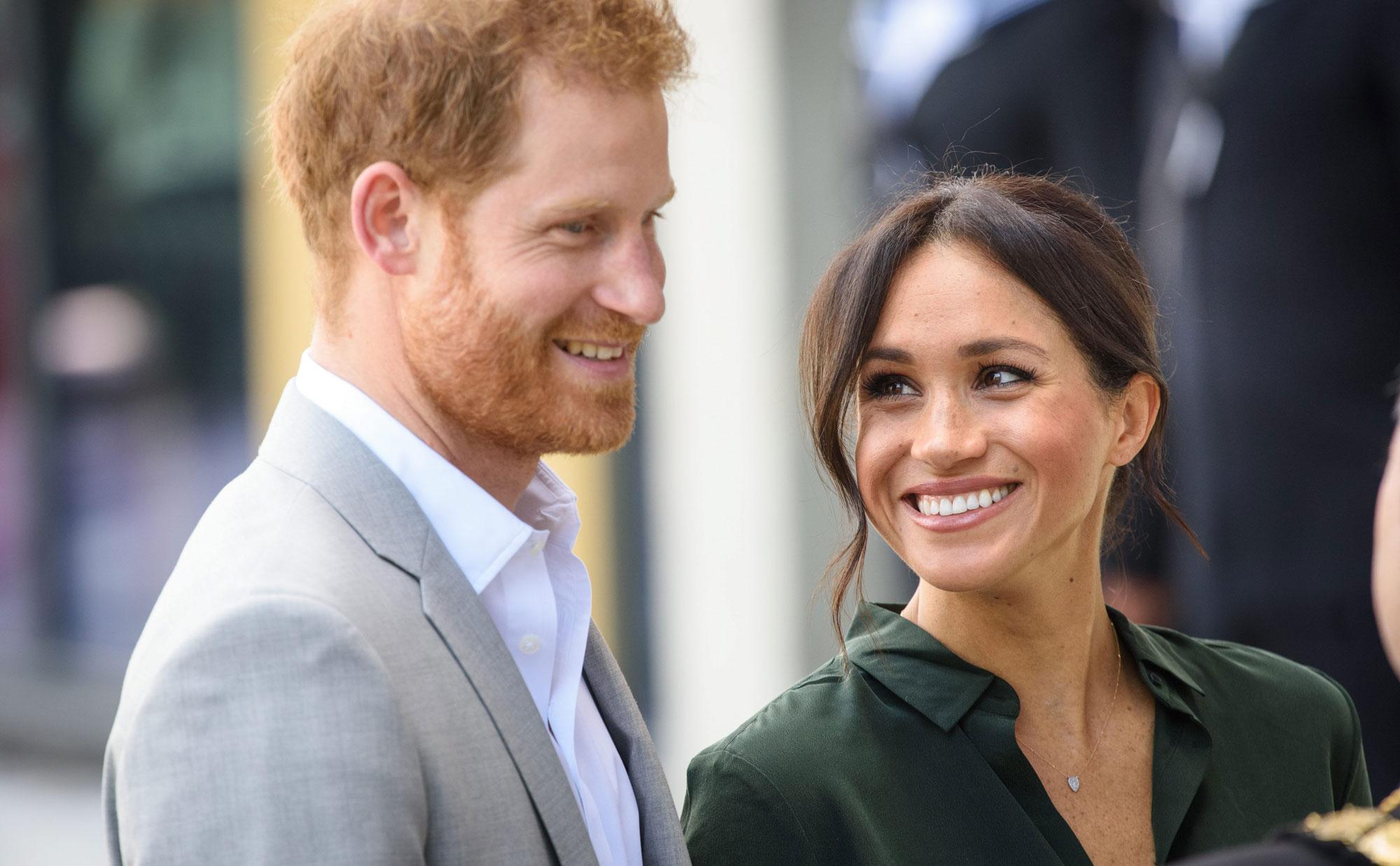 Принц Гарри заверил Меган Маркл, что она выглядит прекрасно после рождения ребенка