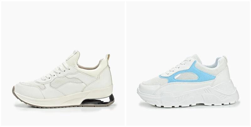 Модные кроссовки на платформе 2019-2020, фото