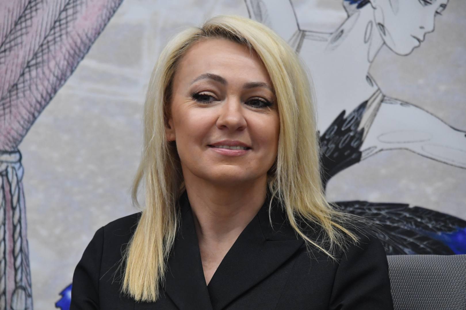 Яна Рудковская на бьюти-дне в Москве