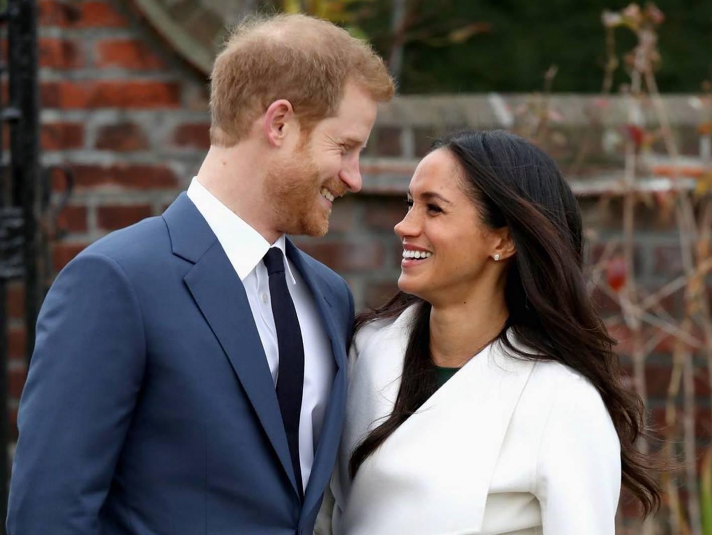 Принц Гарри и Меган Маркл на приеме в резиденции британского посла в Кейптауне