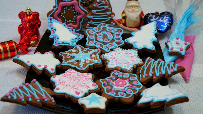 Рецепты домашнего новогоднего печенья