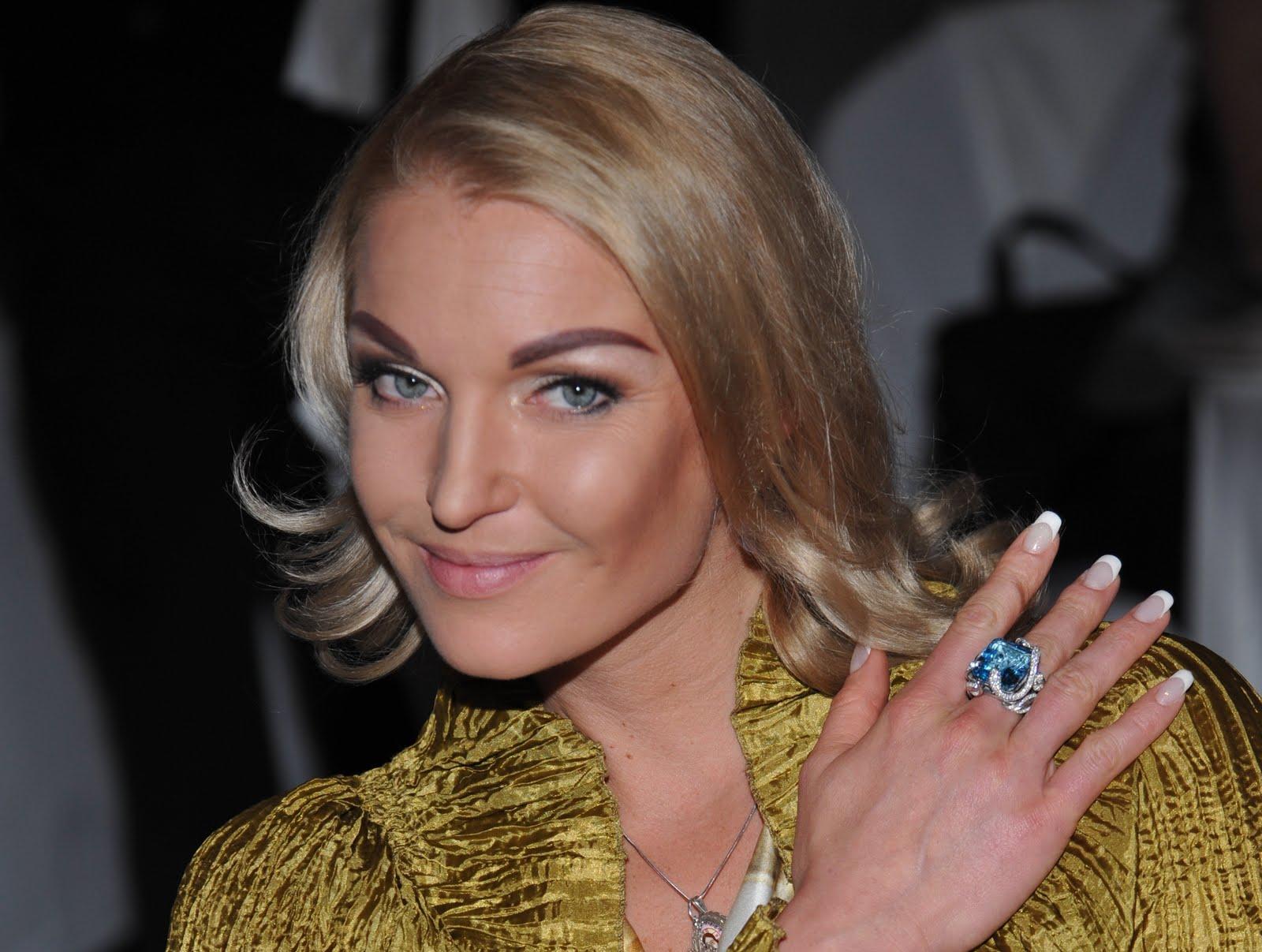 Анастасия Волочкова случайно показала таинственного бойфренда