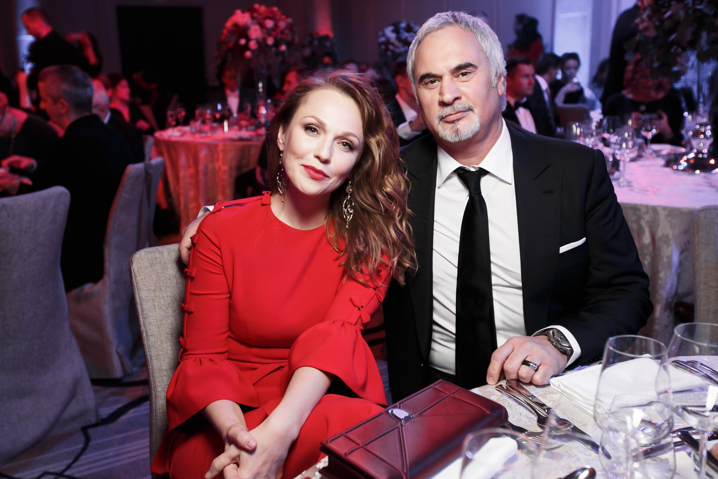 Альбина Джанабаева и Валерий Меладзе побывали на кинопремьере