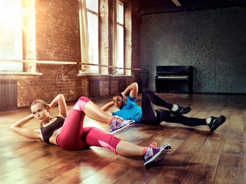 5 простых упражнений для талии и пресса