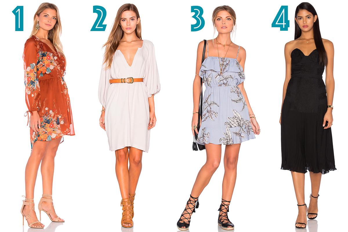 Модные платья в стиле ретро в коллекциях сезона весна-лето 2020