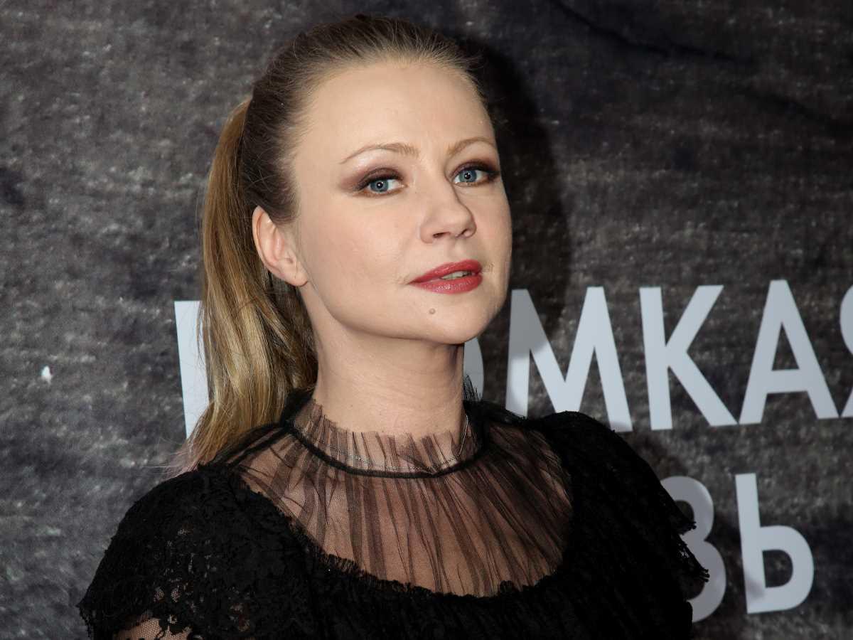 Мария Миронова впервые вышла в свет после рождения второго ребенка