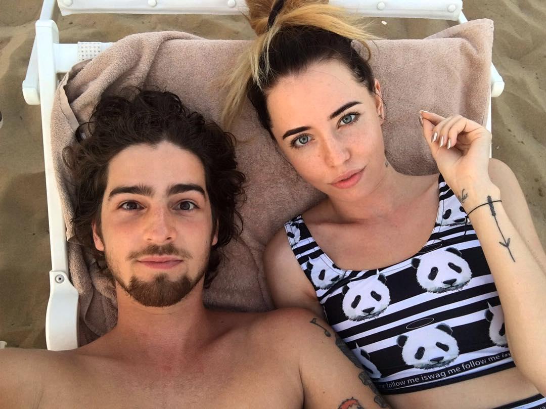 Надя Дорофеева и Владимир Дантес отдыхают в Италии
