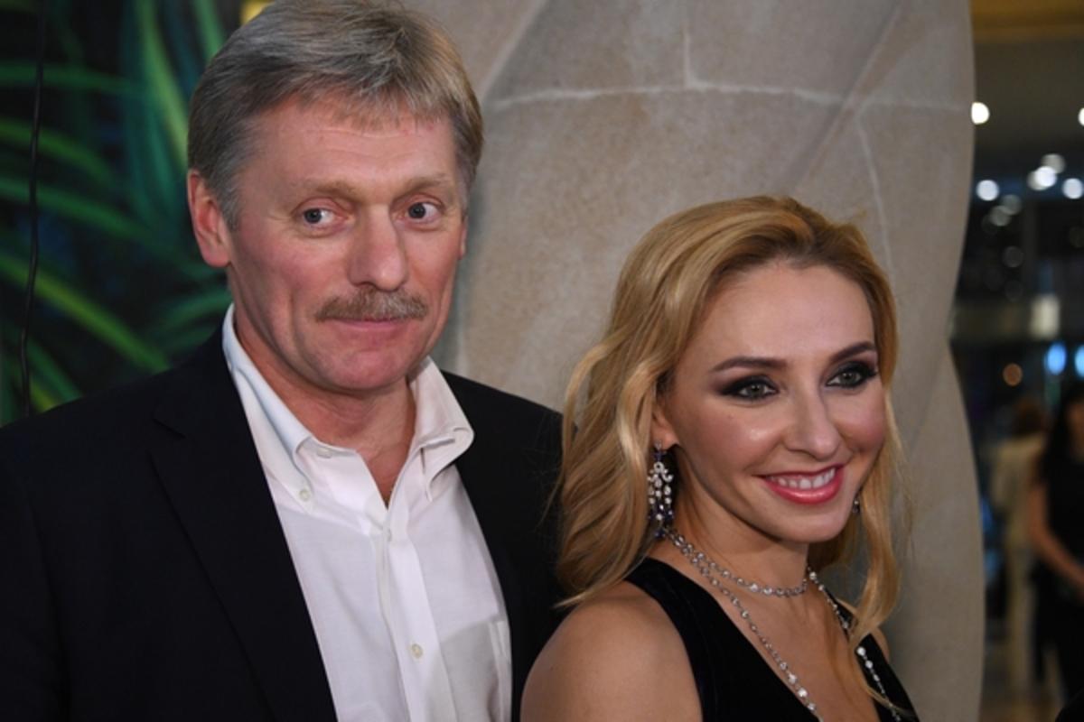 Татьяна Навка и Дмитрий Песков отметили годовщину свадьбы