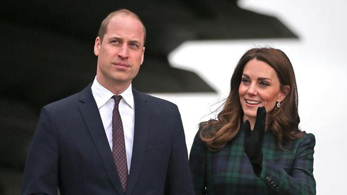Принц Уильям и Кейт Миддлтон дали волю чувствам и слабостям во время визита в Уэльс