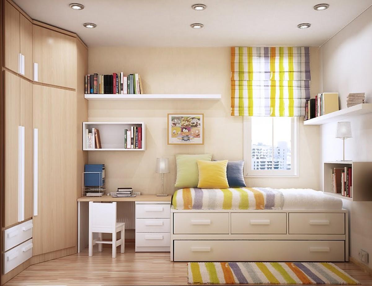 5 неожиданных идей для хранения вещей в маленькой квартире