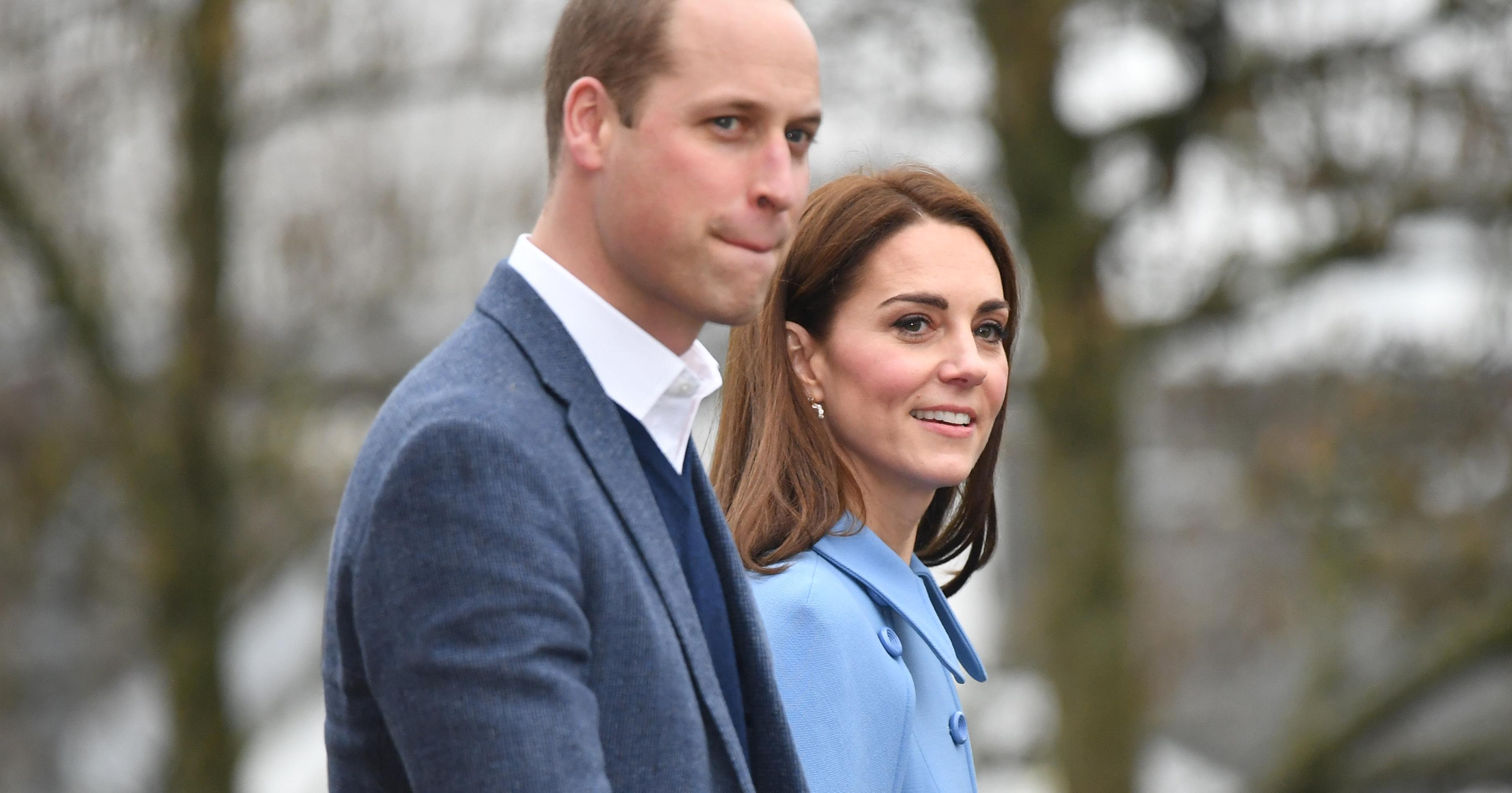 Кейт Миддлтон и принц Уильям прилетели с официальным визитом в Ирландию