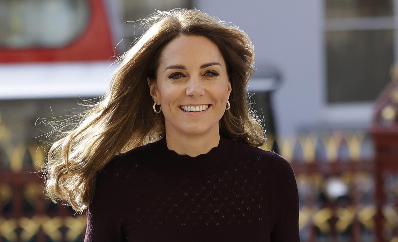 Кейт Миддлтон посетила детский сад в Лондоне