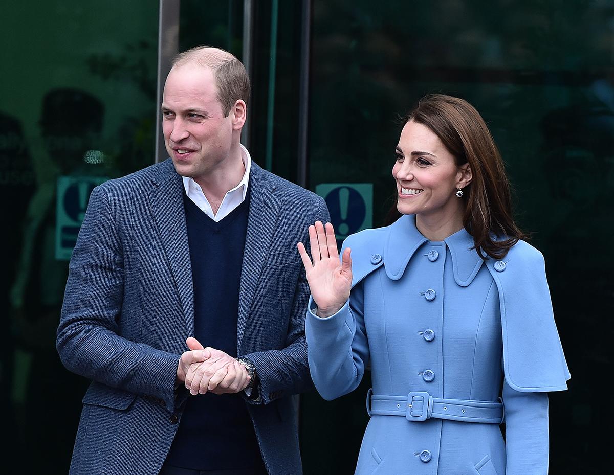 Кейт Миддлтон и принц Уильям приняли участие в церемонии в честь Дня памяти жертв холокоста