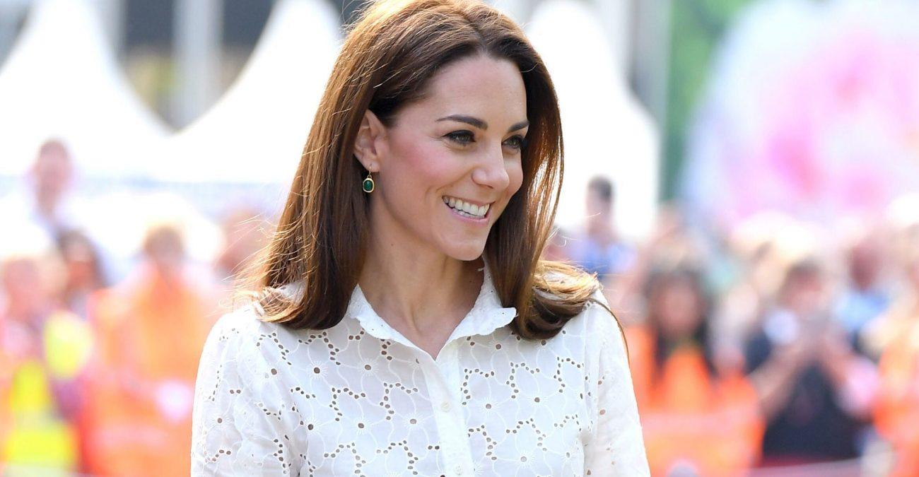 Кейт Миддлтон появилась на публике в платье Zara