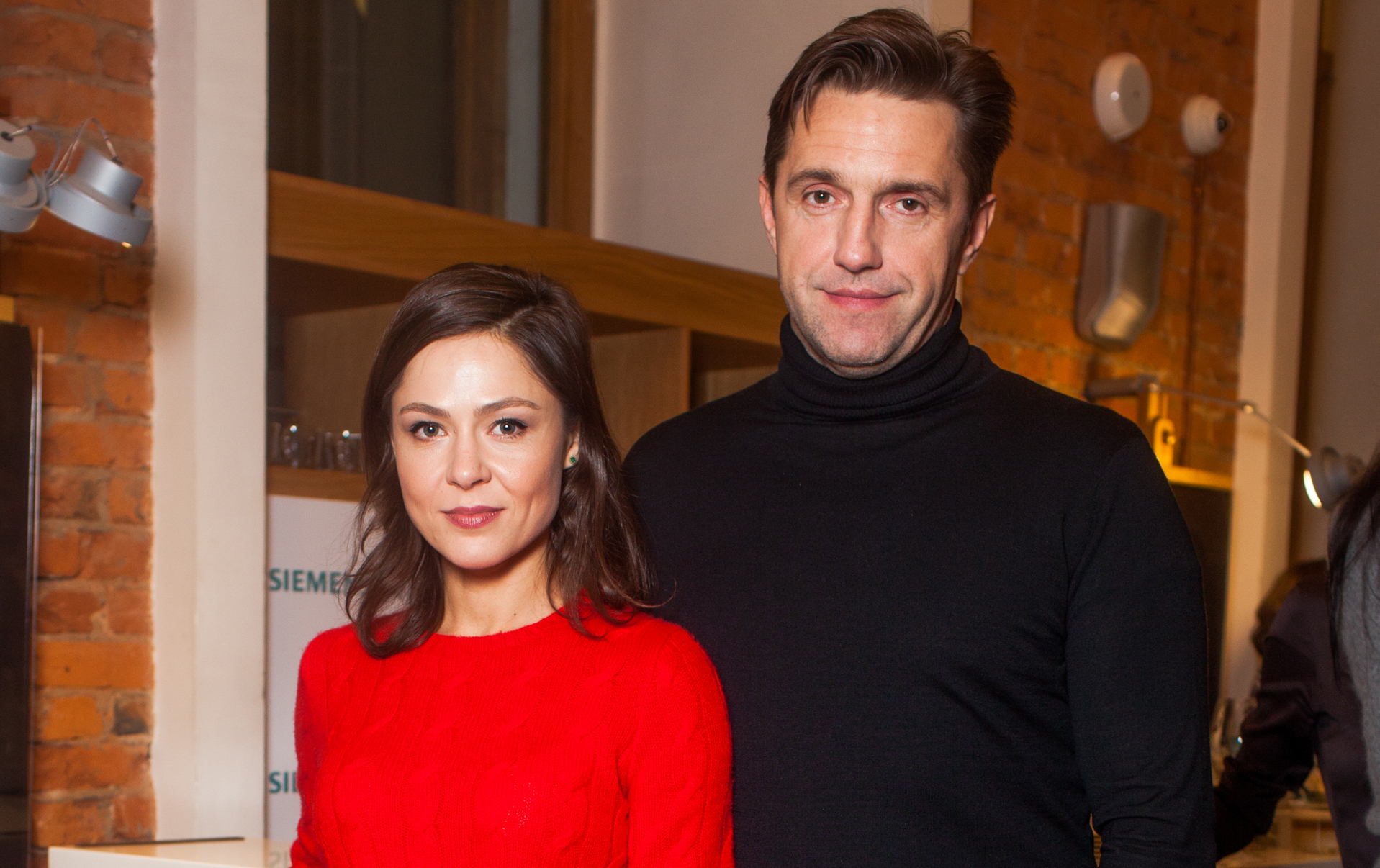 Владимир Вдовиченков и Елена Лядова побывали на открытии фотовыставки в Москве