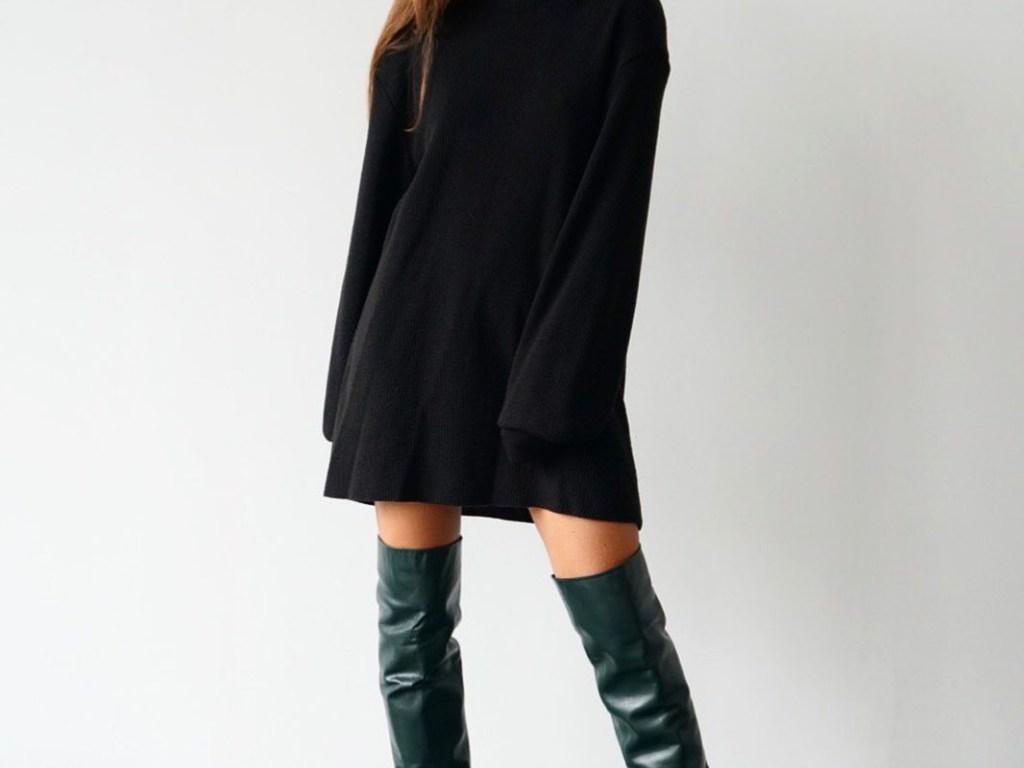 Как носить юбку в холодное время года, чтобы не выглядеть нелепо