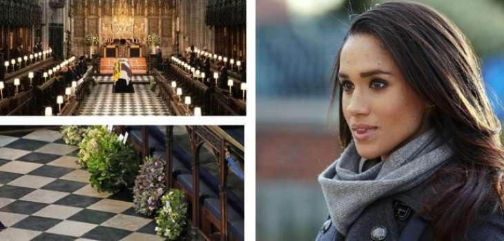 СМИ рассекретили венок Меган Маркл, который был прислан на похороны принца Филиппа (фото)