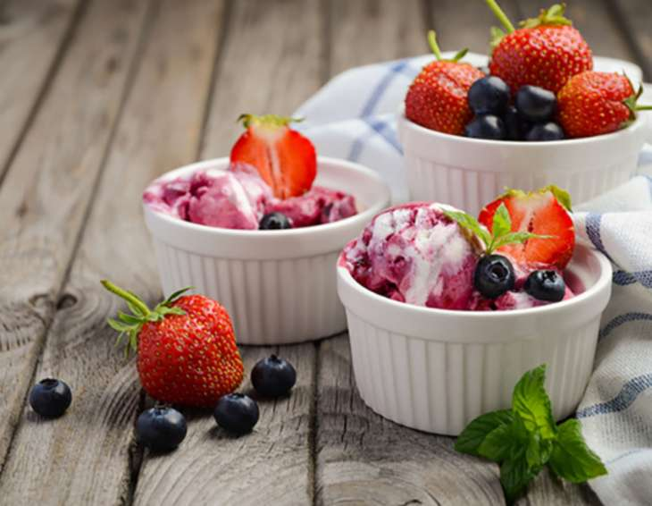 Низкокалорийные летние десерты для тех, кто на диете