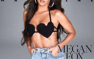 Меган Фокс снялась в бюстгальтере для обложки журнала и была обругана в сети