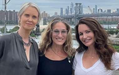 Создатели «Секса в большом городе» показали первые официальные кадры продолжения сериала