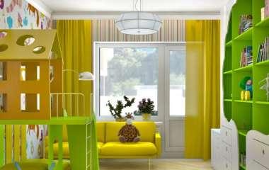 Оформление детской комнаты в квартире
