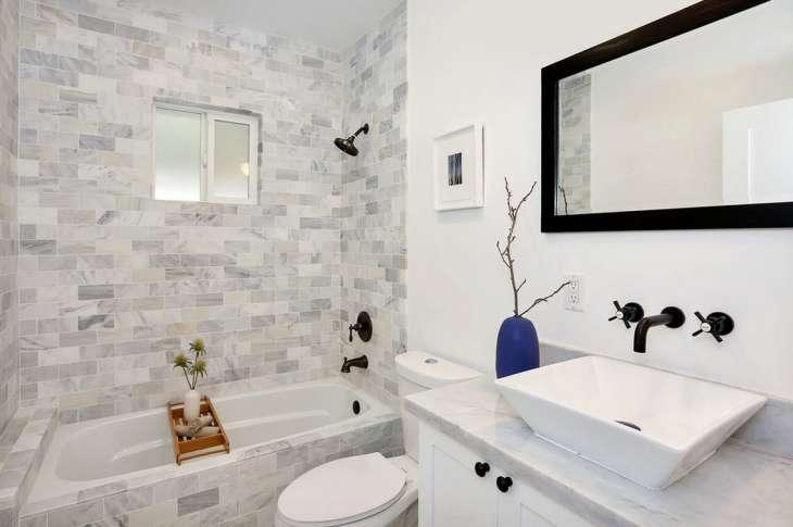Идеи дизайна плитки для ванной комнаты