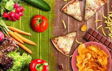 Продукты питания, которые не подходят для ежедневного применения в пищу
