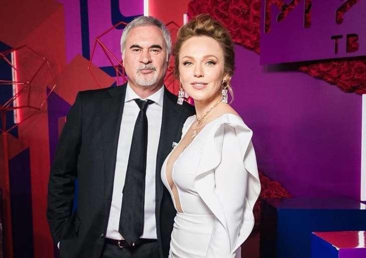 Валерий Меладзе и Альбина Джанабаева посетили светский ужин в Москве
