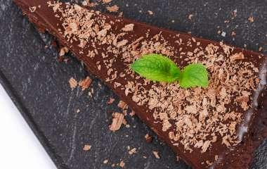 Домашний тарт с грушами и шоколадом