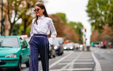 Как носить классическую белую рубашку осенью 2019 года — топ 5 образов